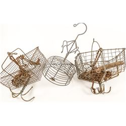 Miner's Clothes Baskets