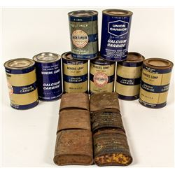 Union Carbide Tin Can Collection