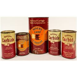 National Carbide Tin Can Collection