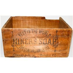 Original Wood Box for Gowans and Sons Miners Soap