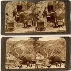 Two Arizona Mining Stereoviews