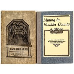 Mining in Boulder County: 2 Volumes