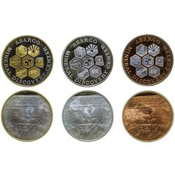 Asarco Mineral Discovery Center Tokens