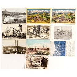 Montana Mining Related Postcards
