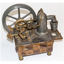 Expertly Built Model Working Steam Engine of Unknown Purpose