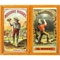Two Large Mining Color Lithographs
