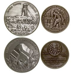 Two Foreign Mining Medals