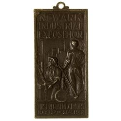 Newark Industrial Exposition Medal