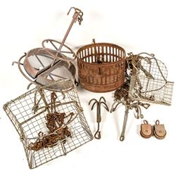 Miner's Clothes Baskets Used to Prevent Highgrading
