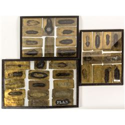 19th Century Brass Mine Stencil Templates