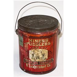 Miners and Puddlers Tin
