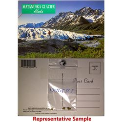 Alaska Gold Taped to Post Cards