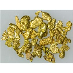 Vial of Small Gold Nuggets