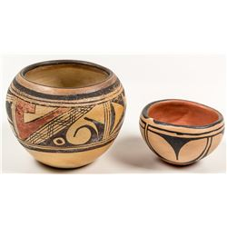 Santana Melchor Pot and Annabell Honie Pot