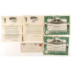 Wellington Oil Company Stock and Ephemera