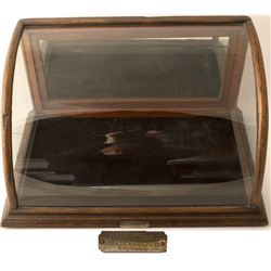 J Riswig of Chicago Curved Display Case