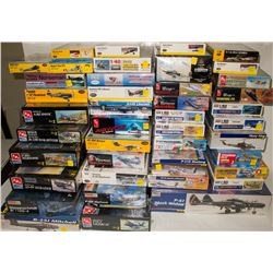 Large Collection of Original Sealed Box Model Airplanes