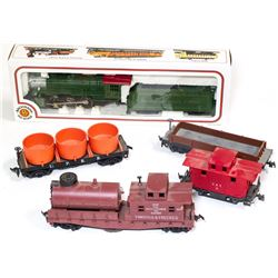 HO Steam Locomotives V&T cars