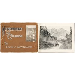 """""""Wonderland of Canada; The Rocky Mountains"""""""