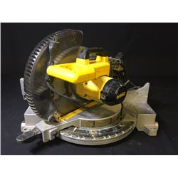 "DEWALT DW715 12"" COMPOUND MITRE SAW"