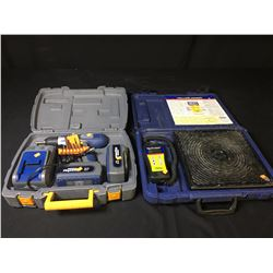MASTERCRAFT CORDLESS DRILL KIT & YELLOW JACKET REFRIGERANT SCALE