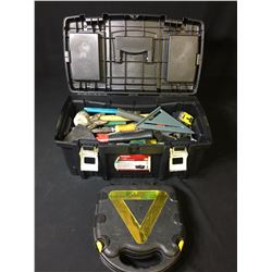 TOOL BOX WITH CONTENTS & SAFETY KIT