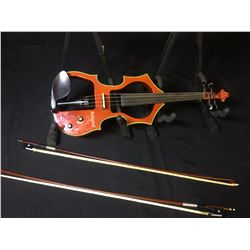 BACHENDORFF ELECTRIC VIOLIN WITH CARRY CASE