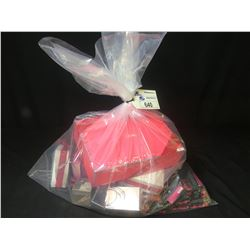 BAG OF ASSORTED PERFUME, COLOGNE & COSMETICS