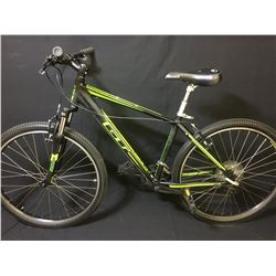 BLACK GT AGGRESSOR 21 SPEED FRONT SUSPENSION MOUNTAIN BIKE