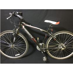 BLACK NAKAMURA ROYAL 21 SPEED FRONT SUSPENSION MOUNTAIN BIKE