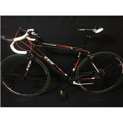 BLACK CCM VAPOUR 14 SPEED RACING BIKE
