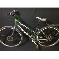 GREY NORCO MONTEREY 24 SPEED FRONT SUSPENSION MOUNTAIN BIKE WITH FULL DISC BRAKES