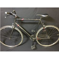 BLACK RALEIGH BACK ALLEY SINGLE SPEED ROAD BIKE