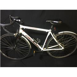 WHITE FUJI NEWEST 27 SPEED ROAD BIKE