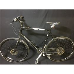 BLACK TREK 4.3 24 SPEED HYBRID BIKE WITH FULL DISC BRAKES