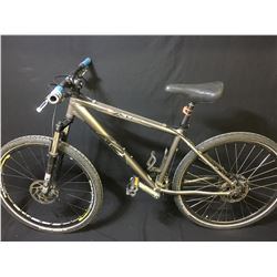 GREY K2 ZED 24 SPEED FRONT SUSPENSION MOUNTAIN BIKE WITH FULL DISC BRAKES