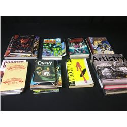 BOX OF ASSORTED GRAPHIC NOVELS