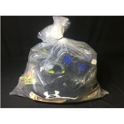 BAG OF ASSORTED ATHLETIC SHOES, HIKING BOOTS & MORE