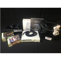ASSORTED VIDEO GAME CONSOLES, GAMES & CONTROLLERS