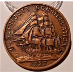 1797 USS Constitution medal