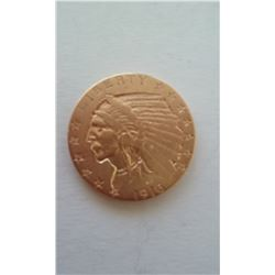 1916 $5.00 Indian head gold piece !!!