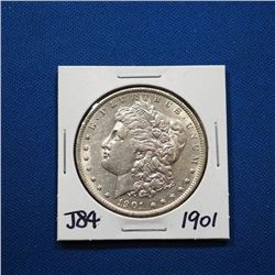 1901-P Morgan silver dollar