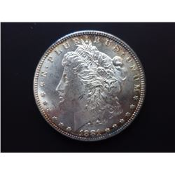 1881-P Morgan silver dollar