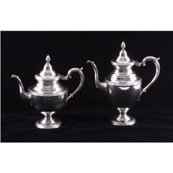 Winifred Jeffers Sterling Silver Tea Set Ennis MT