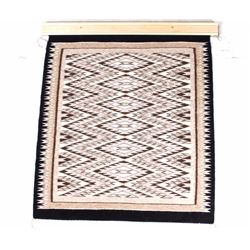 Navajo Eye Dazzler Wool Rug by Dorlene Porozon