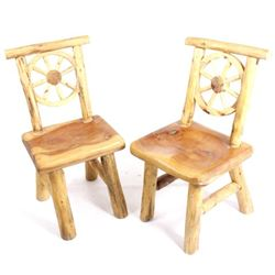 Rustic Western Juniper Chairs