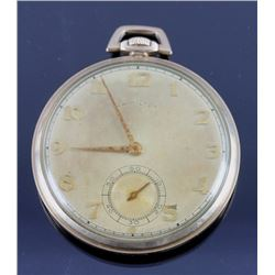 Hamilton 917 17 Jewel 14K Gold Filled Pocket Watch