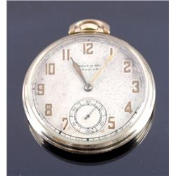 Waltham Premier 17J Pocket Watch 10K Rolled Gold