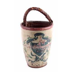 Early 1800's Antique Leather Fire Bucket