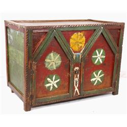 Hand Decorated Early Berber Cabinet